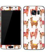 Alpacas Galaxy S7 Skin