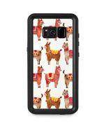 Alpacas Galaxy S8 Plus Waterproof Case