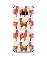 Alpacas Galaxy S8 Skin