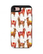 Alpacas iPhone 7 Wallet Case