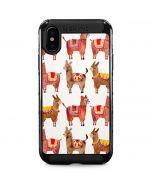 Alpacas iPhone X Cargo Case