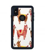 Alpacas iPhone X Waterproof Case