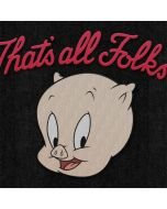 Porky Pig Thats All Folks Amazon Echo Skin