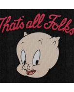 Porky Pig Thats All Folks Apple iPod Skin
