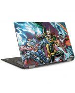 Loki Fighting Avengers Dell XPS Skin