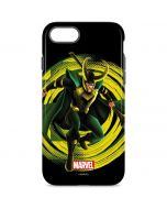Loki Glowing Eyes iPhone 8 Pro Case