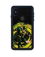 Loki Glowing Eyes iPhone X Waterproof Case