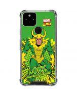 Loki Master of Mischief Google Pixel 5 Clear Case