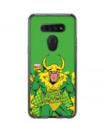 Loki Master of Mischief LG K51/Q51 Clear Case
