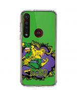 Loki Moto G8 Plus Clear Case