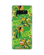 Loki Print Galaxy Note 8 Skin
