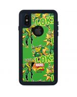Loki Print iPhone X Waterproof Case
