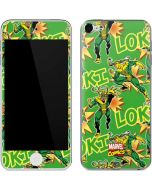 Loki Print Apple iPod Skin