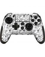 Looney Squad Black and White Grid PlayStation Scuf Vantage 2 Controller Skin