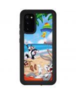 Looney Tunes Beach Galaxy S20 Waterproof Case