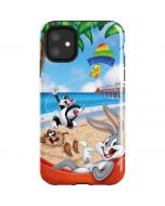 Looney Tunes Beach iPhone 11 Impact Case