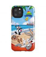 Looney Tunes Beach iPhone 11 Pro Impact Case