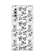 Looney Tunes Big Head Pattern Galaxy Note 10 Skin