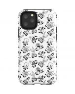 Looney Tunes Big Head Pattern iPhone 11 Pro Impact Case