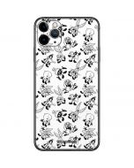 Looney Tunes Big Head Pattern iPhone 11 Pro Max Skin