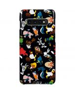 Looney Tunes Identity Pattern Galaxy S10 Plus Lite Case