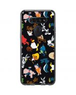 Looney Tunes Identity Pattern LG K51/Q51 Clear Case