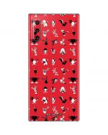 Looney Tunes Identity Red Pattern Galaxy Note 10 Skin