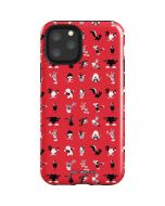 Looney Tunes Identity Red Pattern iPhone 11 Pro Impact Case