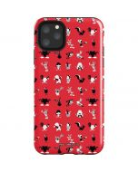 Looney Tunes Identity Red Pattern iPhone 11 Pro Max Impact Case