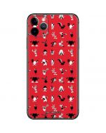 Looney Tunes Identity Red Pattern iPhone 11 Pro Max Skin