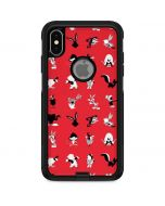 Looney Tunes Identity Red Pattern Otterbox Commuter iPhone Skin
