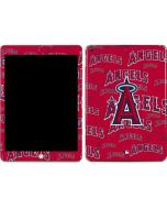 Los Angeles Angels - Cap Logo Blast Apple iPad Skin