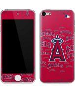 Los Angeles Angels - Cap Logo Blast Apple iPod Skin