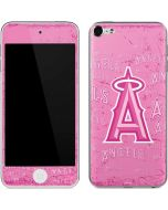 Los Angeles Angels - Pink Cap Logo Blast Apple iPod Skin