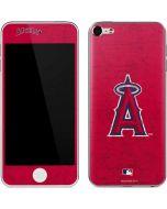 Los Angeles Angels - Solid Distressed Apple iPod Skin