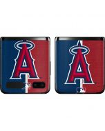 Los Angeles Angels Split Galaxy Z Flip Skin