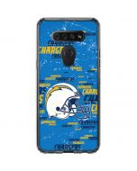 Los Angeles Chargers - Blast LG K51/Q51 Clear Case