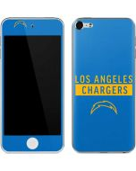 Los Angeles Chargers Blue Performance Series Apple iPod Skin