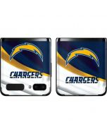 Los Angeles Chargers Galaxy Z Flip Skin