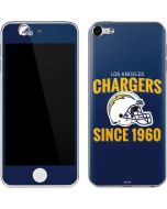 Los Angeles Chargers Helmet Apple iPod Skin