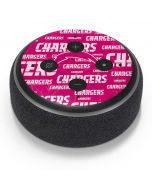 Los Angeles Chargers Pink Blast Amazon Echo Dot Skin
