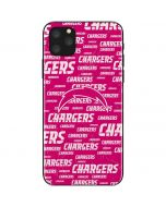 Los Angeles Chargers Pink Blast iPhone 11 Pro Max Skin