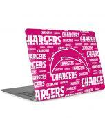 Los Angeles Chargers Pink Blast Apple MacBook Air Skin