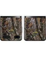 Los Angeles Chargers Realtree AP Camo Galaxy Z Flip Skin