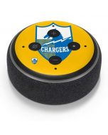 Los Angeles Chargers Retro Logo Amazon Echo Dot Skin