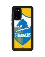 Los Angeles Chargers Retro Logo Galaxy S20 Waterproof Case