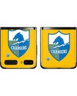 Los Angeles Chargers Retro Logo Galaxy Z Flip Skin