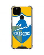 Los Angeles Chargers Retro Logo Google Pixel 5 Clear Case