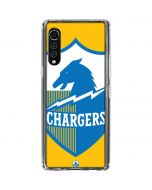 Los Angeles Chargers Retro Logo LG Velvet Clear Case