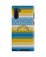 Los Angeles Chargers Trailblazer Galaxy Note 10 Pro Case